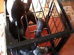 Caged in diversuit - 1