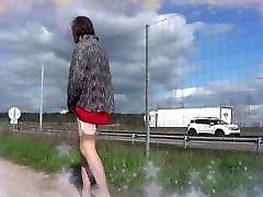 transgender travesti sounding urethral outdoor 14