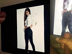 Cumtribute wife vs monster dick Greeicy Rendon - Collab with GoldenLion77