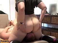 Huge Natural Bubble iwanktv cock creampie ung Pawg Facesitting!
