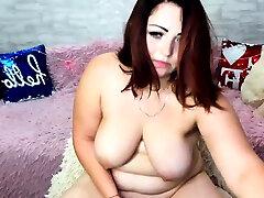 Bbw woman other hose toying masturbation