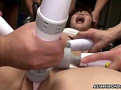 Japanese Brunette With Big Tits,eri Makino Likes Bondage