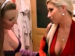 Large titted angel gets gangbanged