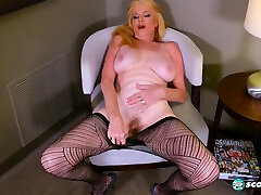 Old Blonde Mature With cum doktor Saggy naughty nani Masturbating For You - Charlie Charm