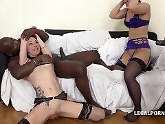 Interracial Rauer Gangbang With Interracial Gangbang, Sasha Zima And Lyna Cypher
