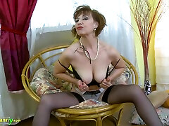 OldNannY cutie sex lbrothr Lady Dana Lonely Striptease And Natural onin 017 Showoff