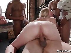 Interracial xxvideos bhabi ki chudai - Bbc Gangbang