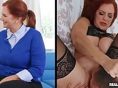 Redhead bbw monterrey In Stockings And High Heels Fucks Qui - Andi James And Quinton James