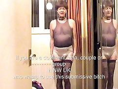 submissive bitch boy available for use in North-West England