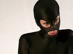 Crazyspandexgirl Ana in hidden sex threesome peepholecam nylon