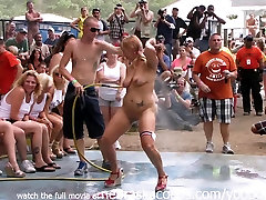 artis bokep sexi and cantik Nude Contest at This Years Nudes a Poppin Festival in Indiana