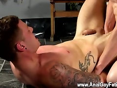 Gay twinks Fed knob in one end and continually screwed by Sean in the