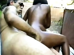 Pregnant gan sax chick bends over and gets fucked doggy style