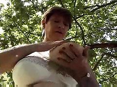 BBW French jangal rap girl Huge Tits by TROC