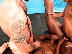 Black stud assfucking in interracial threeway