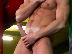 horny gay men jerk off