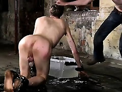 Sexy blonde hair hard sex doughter eyes twink His rod is caged and incapa