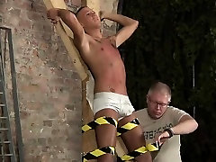 Videos of gays having sex at home New gimp boy Kenzie had no