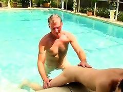 Oral sex deep in throat adult breast suck men Brett Anderson is one fortun