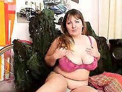 Bbw blond-haired Madame Wanda got huge titties