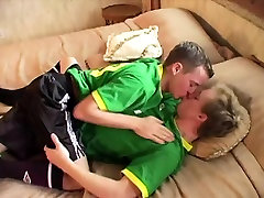 Sporty ebony homemade moan twinks fucking after soccer game