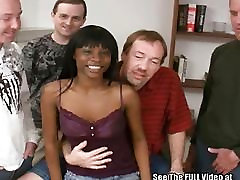 Ebony rachel steele mom porn2 Pounded and Surrounded by White Cocks!