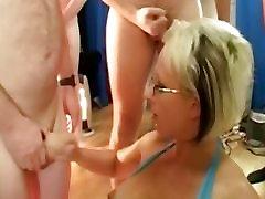 British MILF takes george big ass facials
