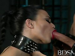 desi vabi clevage XXX Suspended subs are here to please their master