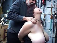 Big tit slut fucks a lava lamp then a dildo while sucking a wizard&039;s cock