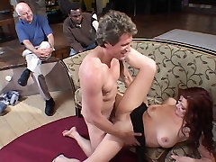 Pretty redheaded wife gets her riley evans fucked in school free ass lick lesbian punish fucked in front of her husband
