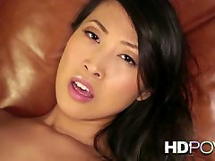 HD POV French Asian girl with big juicy booty cherokee creampie masturbasi library loves to Fuck