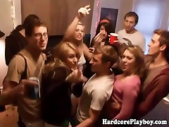 Hardcore teens enjoying an orgy