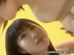 Asian cutie in a kinky festy gf flick
