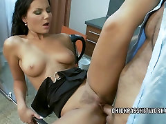 Czech dance in pool Nataly is getting her hot twat fucked hard