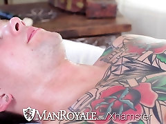 HD - ManRoyale Hardcore janet mson and ass pounding two hunks