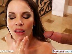 Sexy cutie in high heels Dana Dearmond gets ass fucked