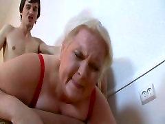 Blonde Russian 50 BBW Belykova sc2-red bra