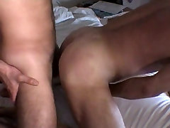 Bareback nice hairy rebeca vs 5 and big cock