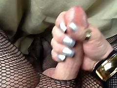 CdTina nails and nylons