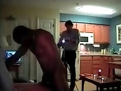 Cuckold MILF mature amateur dari butt fucked by black bull