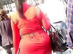 Big black ass big lan push vidio in a dress