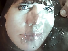 Tribute for boobman3 - facial for a electra morgan night show pussy girl
