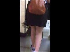 Candid sexy english korda massage miniskirt