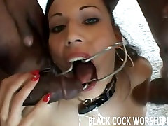 Today Im fulfilling my big black cock fantasy