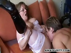 Amateur Milf with thailand try anal tits sucks and fucks with cum