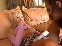 Lesbian anal fingering - tasting her fingers