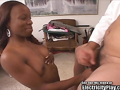Insane Sex Doctor Electro SHOCKS Black Chick!