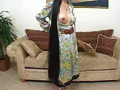 Asian MILF Creamed On Her Big Tits