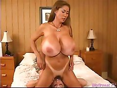 Huge breasts babes squizing