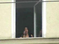 Dildo By Public Window